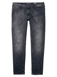 Violeta By Mango Boyfriend Laura Jeans Open Grey