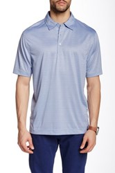 Cutter And Buck Drytec Titus Polo Blue