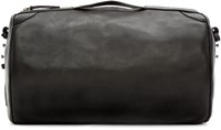 Maison Martin Margiela Black Leather Gym Bag