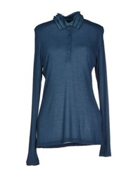 Fred Perry Polo Shirts Blue