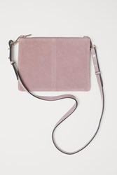Handm H M Small Bag With Suede Details Pink