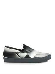 Christopher Kane Paper Print Slip On Trainers