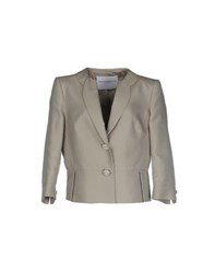 Gai Mattiolo Suits And Jackets Blazers Women Beige