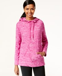 Styleandco. Style And Co. Sport Petite Long Sleeve Space Dye Sweatshirt Only At Macy's Fresh Fuscia