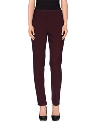 Ottod'ame Trousers Casual Trousers Women Maroon