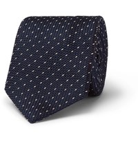 Paul Smith 6Cm Polka Dot Silk Tie Navy