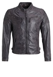 Gipsy Chester Leather Jacket Dunkelbraun Dark Brown