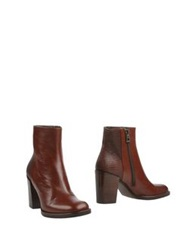 Zinda Ankle Boots Brown