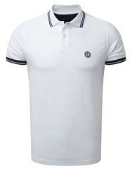 Henri Lloyd Men's Byron Regular Polo Optical White