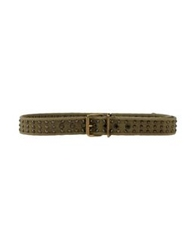 Jo No Fui Belts Military Green
