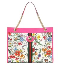 Gucci Rajah Large Floral Tote Multicoloured