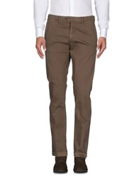 Seventy By Sergio Tegon Trousers Casual Trousers Khaki