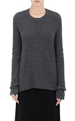 A.L.C. Women's Peter Wool Cashmere Open Back Sweater Grey