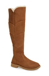 Uggr Women's Ugg 'Sibley' Over The Knee Water Resistant Boot Chestnut Suede