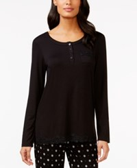 Alfani Lace Trim Tunic Only At Macy's