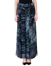 Alberta Ferretti Skirts Long Skirts Women Slate Blue
