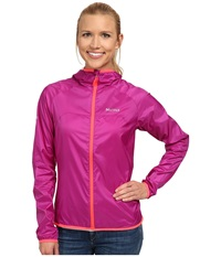Marmot Trail Wind Hoodie Beet Purple Women's Jacket Red