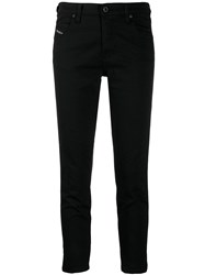 Diesel Babhila Slim Fit Jeans Black