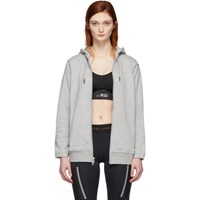 Adidas By Stella Mccartney Grey Essential Hoodie