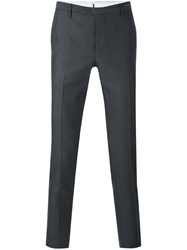 Pt01 Tailored Pants Men Cotton Spandex Elastane Virgin Wool 52 Black
