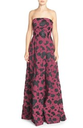 Women's Tracy Reese Strapless Pleat Jacquard Gown