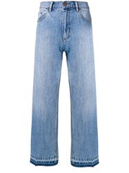 Marc Jacobs Cropped Classic Jeans Blue