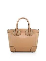 Christian Louboutin Eloise Small Studded Leather Tote Antique Rose