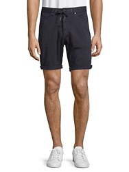 Civil Society Drawstring Walk Shorts Navy
