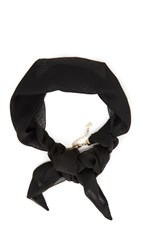 Juliet And Company Cravat Necklace Black
