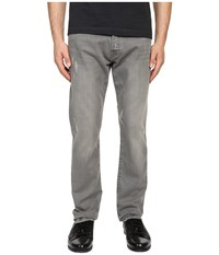 The Kooples Regular Fit Stretch Denim Light Grey Men's Jeans Gray