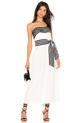 C Meo Collective Incise Jumpsuit Ivory