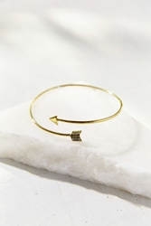 Urban Outfitters Delicate Arrow Armband Gold