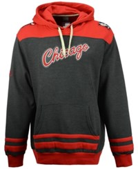 Majestic Men's Chicago Bulls Double Double Hoodie Charcoal Red