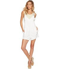 Free People Summer Escape Romper Ivory Women's Jumpsuit And Rompers One Piece White