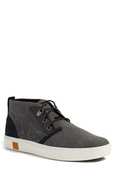 Timberland Men's 'Amherst' Sneaker Black Canvas Leather