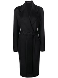 Acne Studios Carice Double Breasted Coat Black