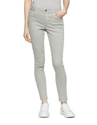 Calvin Klein Jeans Skinny Fit Ankle Length Pants Wrought Iron