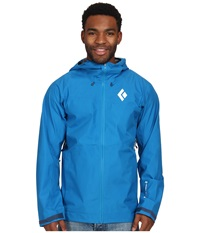 Black Diamond Liquid Point Shell Sapphire Men's Jacket Blue