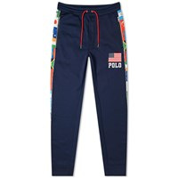 Polo Ralph Lauren Flag Taped Jogger Blue