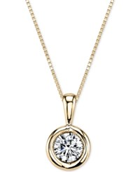 Sirena Energy Diamond Pendant Necklace 1 5 Ct. T.W. In 14K Gold Or White Gold Yellow Gold