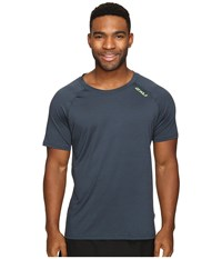2Xu Urban Short Sleeve Top Ombre Blue Marle Gecko Green Men's Clothing