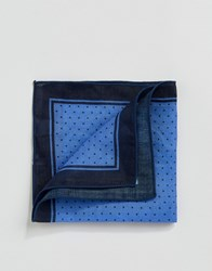 Selected Homme Pocket Square Comb 6 Dark Navy Multi