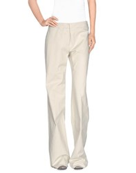 Weekend Max Mara Trousers Casual Trousers Women Light Grey