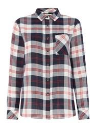 Barbour Dock Shirt Navy