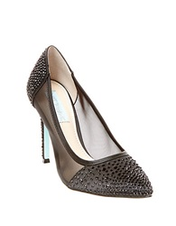Betsey Johnson Elise Embellished Pumps Black