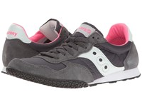 Saucony Bullet Charcoal Pink 2 Women's Classic Shoes Gray