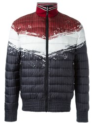 Just Cavalli Colour Block Padded Jacket Black