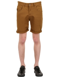 Globe Cotton Shorts Camel