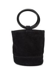 Simon Miller Bonsai 20 Bucket Bag Women Wood Suede One Size Black