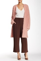 Free Press Seamed Crop Pant Brown